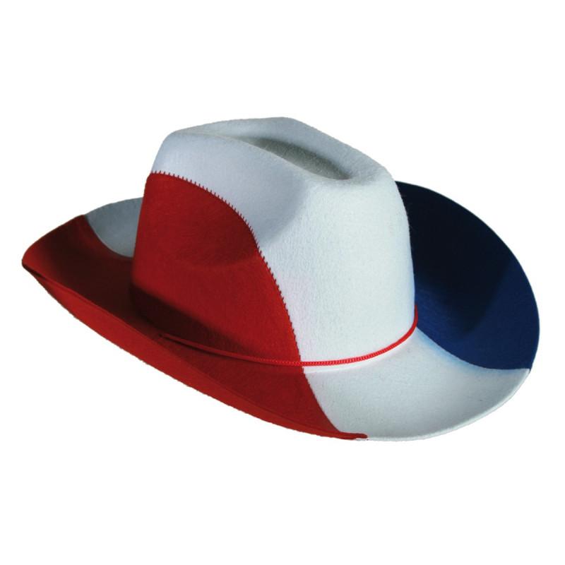 chapeau de cowboy france sur kas design distributeur d 39 articles originaux pour tous les supporters. Black Bedroom Furniture Sets. Home Design Ideas