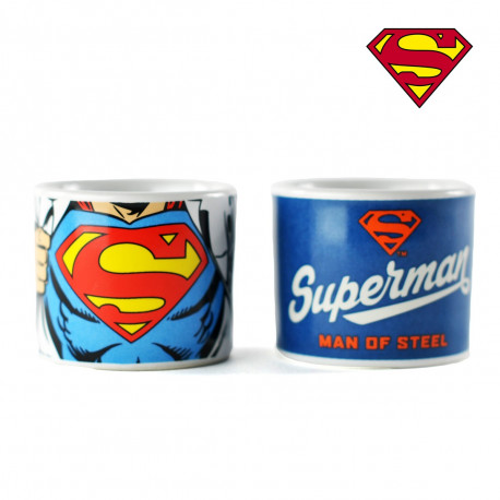 Coquetiers Superman - Set de Deux