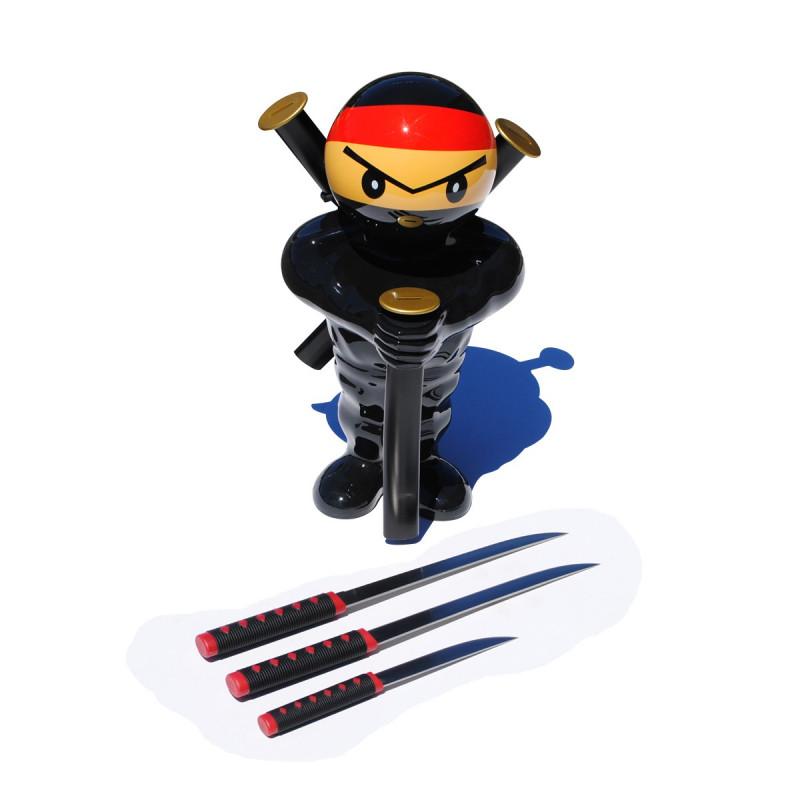 porte couteaux ninja kas design distributeur de produits originaux. Black Bedroom Furniture Sets. Home Design Ideas
