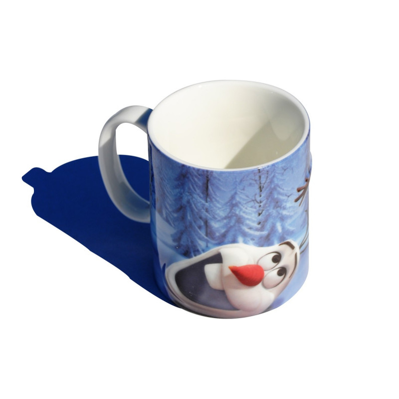Mug 2d olaf la reine des neiges kas design - Olafe la reine des neiges ...