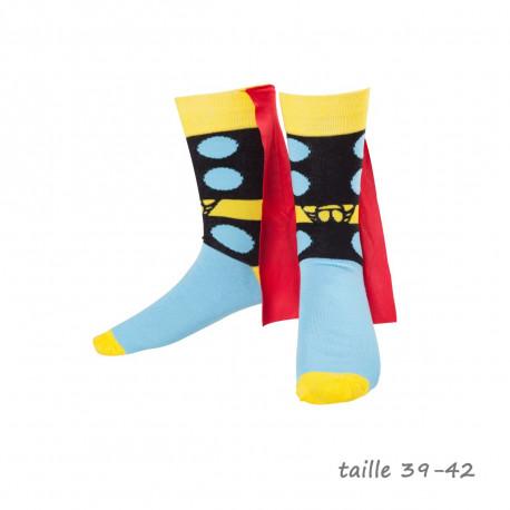 Chaussettes Thor avec Cape Marvel