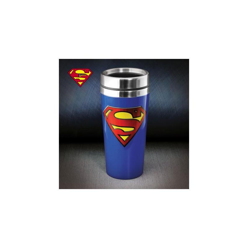 mug de voyage superman kas design distributeur de. Black Bedroom Furniture Sets. Home Design Ideas