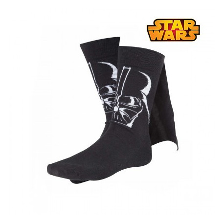 Chaussettes Dark Vador Star Wars avec Cape