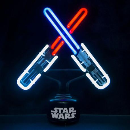 lampe n on star wars sabres laser kas design distributeur de produits star wars. Black Bedroom Furniture Sets. Home Design Ideas