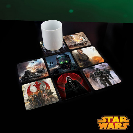 Sous-Verres Animés Star Wars R1 - Lot de 8