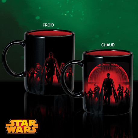 Mug Thermoréactif Étoile de la Mort Dark Vador Star Wars