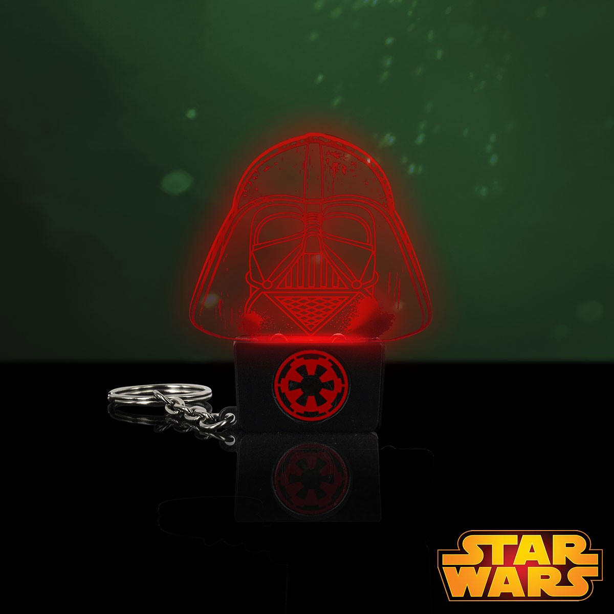 Porte cl s lumineux dark vador star wars distribu par kas for Decoration porte star wars
