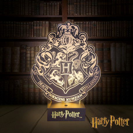 Lampe acrylique Poudlard Harry Potter