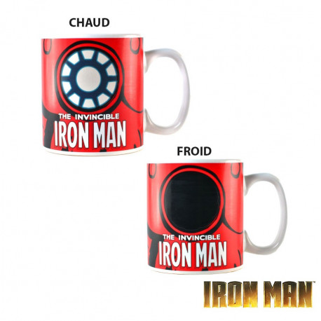 Mug Thermoréactif Iron Man Marvel