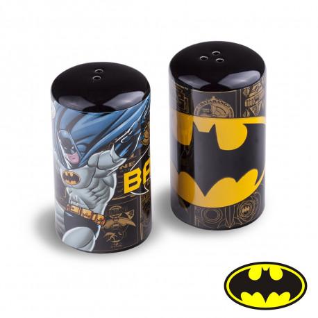 Salière et Poivrière Batman Cylindriques