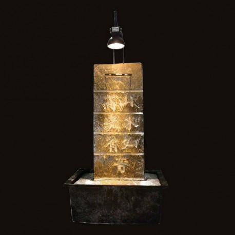 Fontaine de l'Amitié - Mur d'Eau avec Spot