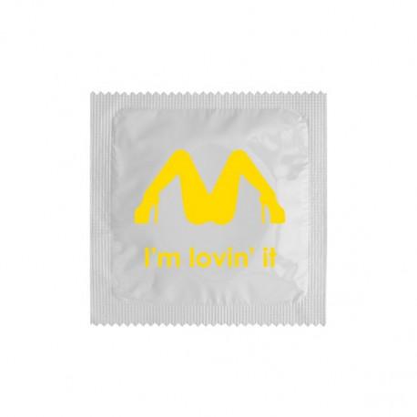 Préservatif I'm Lovin it