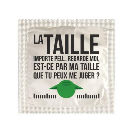 Préservatif La Taille importe peu...
