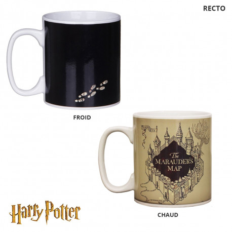 Mug Thermoréactif Harry Potter - Carte du Maraudeur