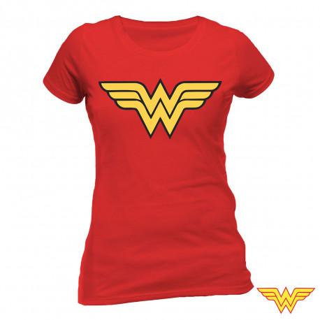 T-shirt Wonder Woman Logo Femme