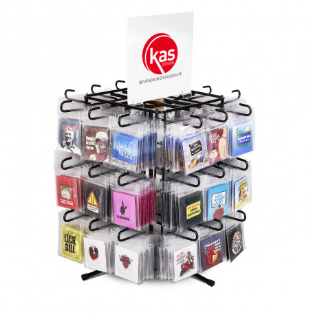 Présentoir préservatifs avec 360 préservatifs