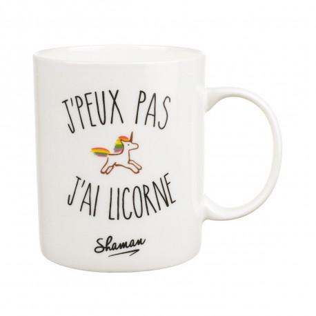 Mug J'peux pas J'ai Licorne