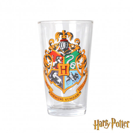 Grand Verre Blason Poudlard Harry Potter