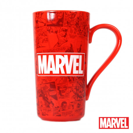 Haute Tasse Marvel Rouge