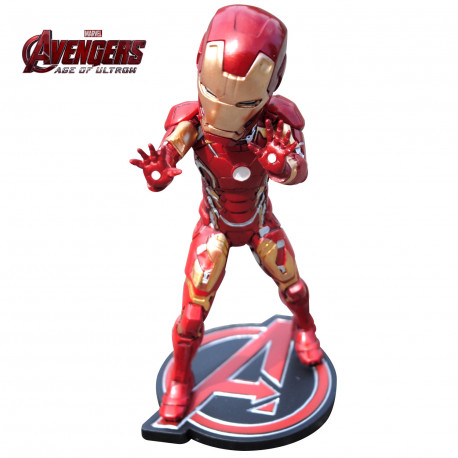 Figurine Iron Man Marvel Age of Ultron à Tête Osci
