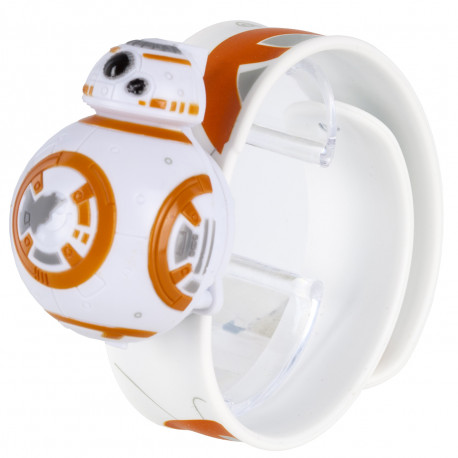 Montre 3D BB-8 Star Wars-Bracelet Interchangeable