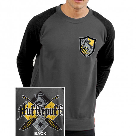 T-Shirt Manches Longues Harry Potter Poufsouffle