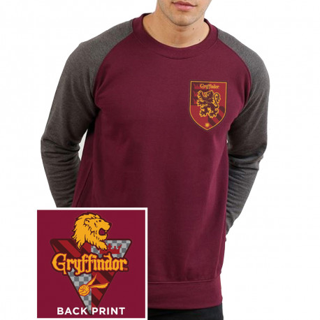 T-Shirt Manches Longues Harry Potter Gryffondor