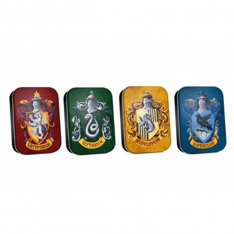 Lot de 4 Petites Boîtes Collector Harry Potter