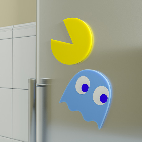 Dessous-de-plat Pacman - Lot de Deux