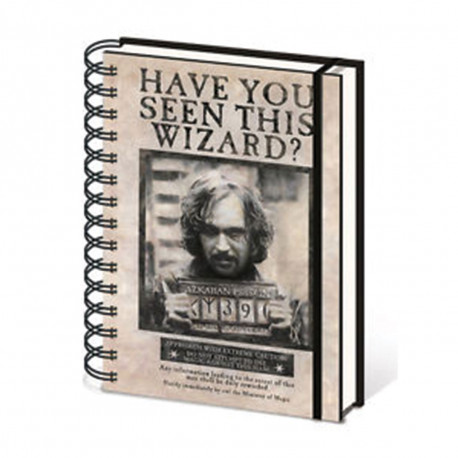 Carnet à Spirales Harry Potter Wanted