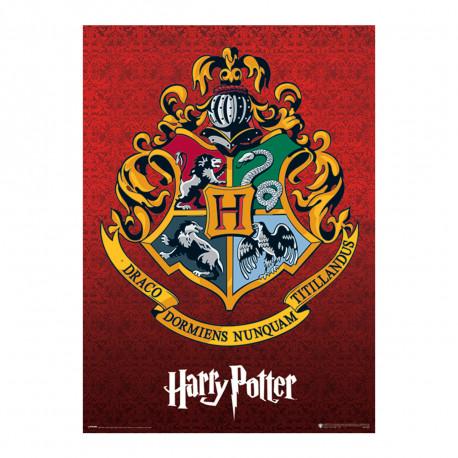 Maxi Poster Effet Métallique Harry Potter Poudlard