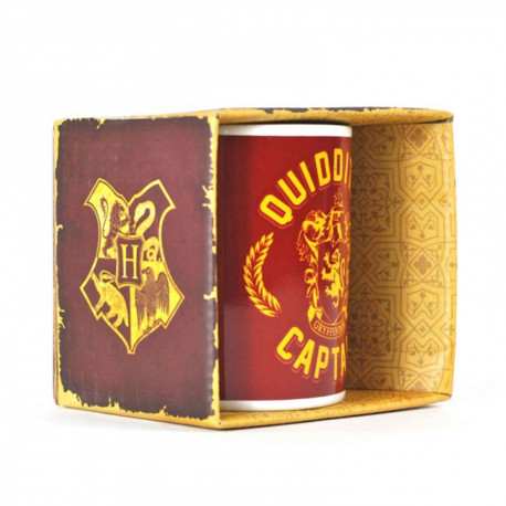 Mug Harry Potter Quidditch Captain