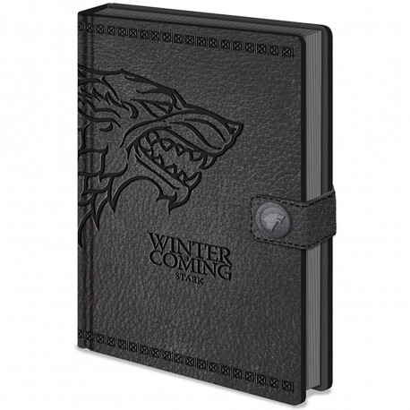 Carnet de Notes Deluxe Game of Thrones Stark