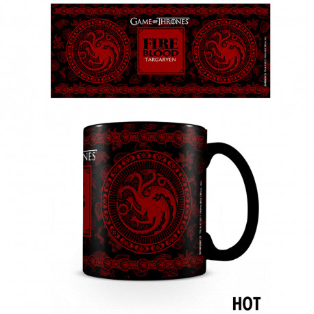 Mug Thermoréactif Familles de Game of Thrones