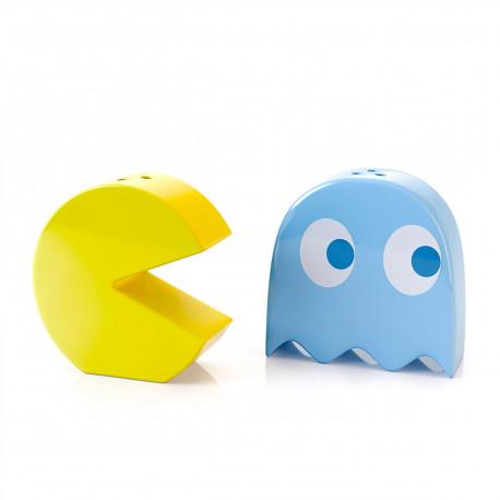Salière et Poivrière Pacman - Lot de Deux