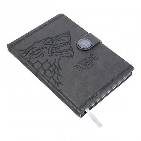 Carnet de Notes Deluxe Game of Thrones Stark