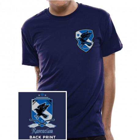 T-Shirt Harry Potter Serdaigle Manches Courtes