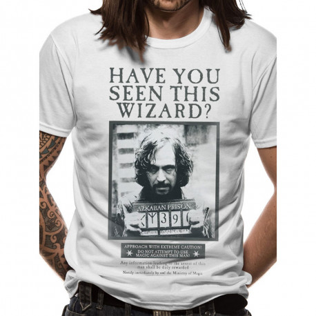 T-Shirt Harry Potter Sirius Have You Seen This Wizard