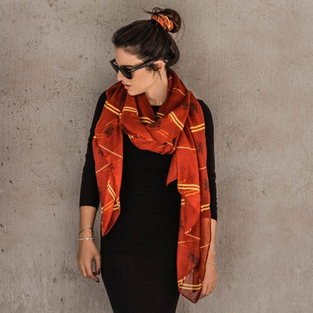 Foulard Harry Potter Gryffondor