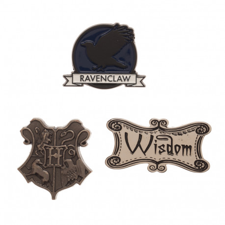 Lot de 3 Badges Serdaigle Harry Potter