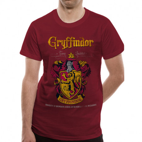 T-Shirt Harry Potter Gryffondor Quidditch