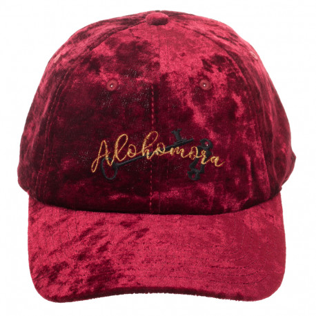 Casquette Velours Harry Potter Sortilège Alohomora