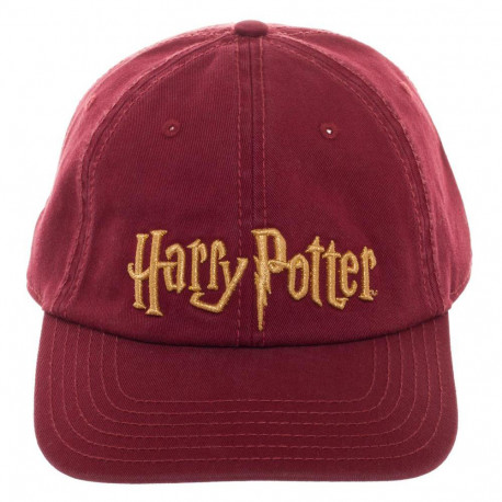 Casquette Logo Harry Potter Bordeaux