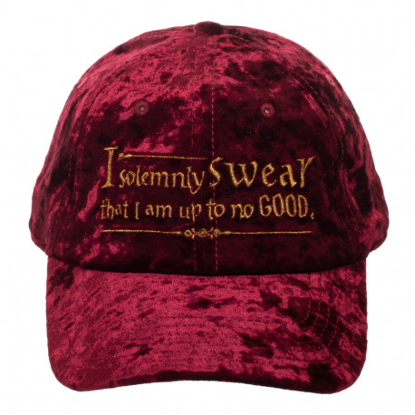 Casquette Velours Harry Potter I Solemnly Swear