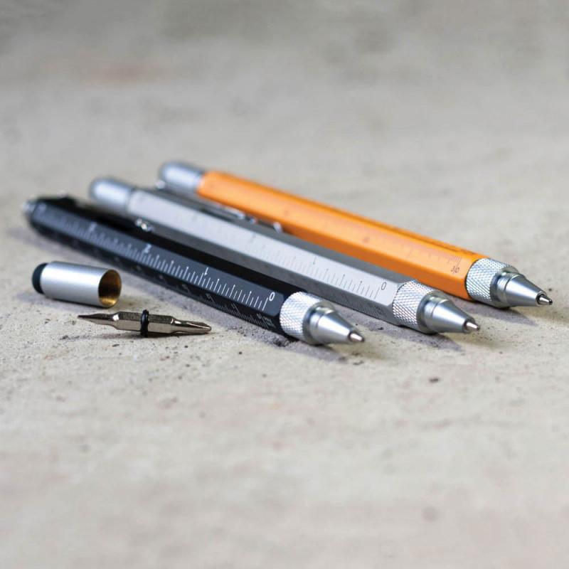 cadeau pour les p/ères Lot de 2 stylos multifonctions 6 en 1