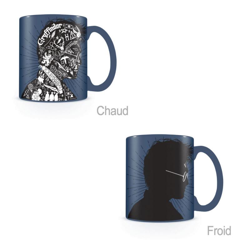 Potter Mug Sur Portrait Harry Thermoréactif Design Kas q3AL54jR
