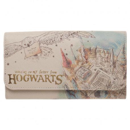 Portefeuille Harry Potter Croquis Poudlard
