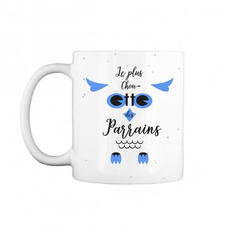 Mug Parrain - Le Plus Chouette des Parrains
