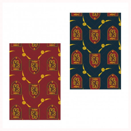 Plaid Harry Potter Gryffondor Vif d'Or