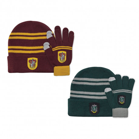 Set Enfant Harry Potter - Bonnet et Gants Tactiles